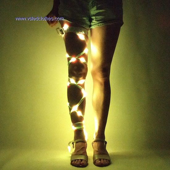 Amazing Full color LED Leg Wrap