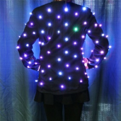 Programmable Rocket Girls LED Costumes