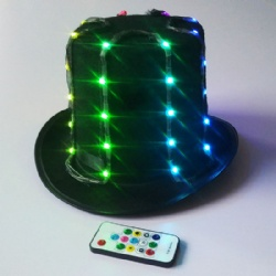 Remote LED Top Hat