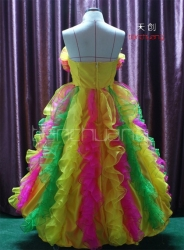 LED Light Long Dress