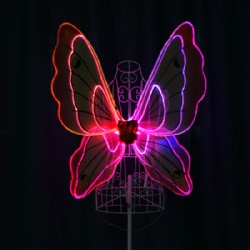 LED Light up Fiber Optic Wings (Kids model)