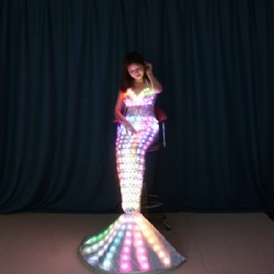 LED light up Mermaid Costumes