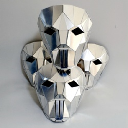 Chrome mirror mask