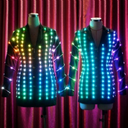 Lady's Pixels LED Jacket