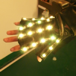 Full color LED Light Gloves